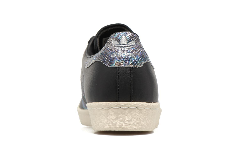 Deportivas Adidas Originals Superstar 80S Negro vista lateral derecha