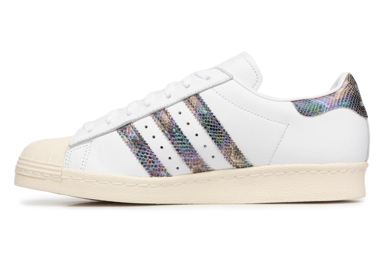 Deportivas Adidas Originals Superstar 80S Blanco vista de frente