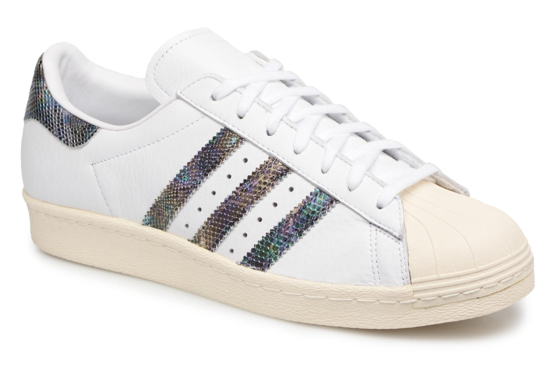 Deportivas Adidas Originals Superstar 80S Blanco vista de detalle / par