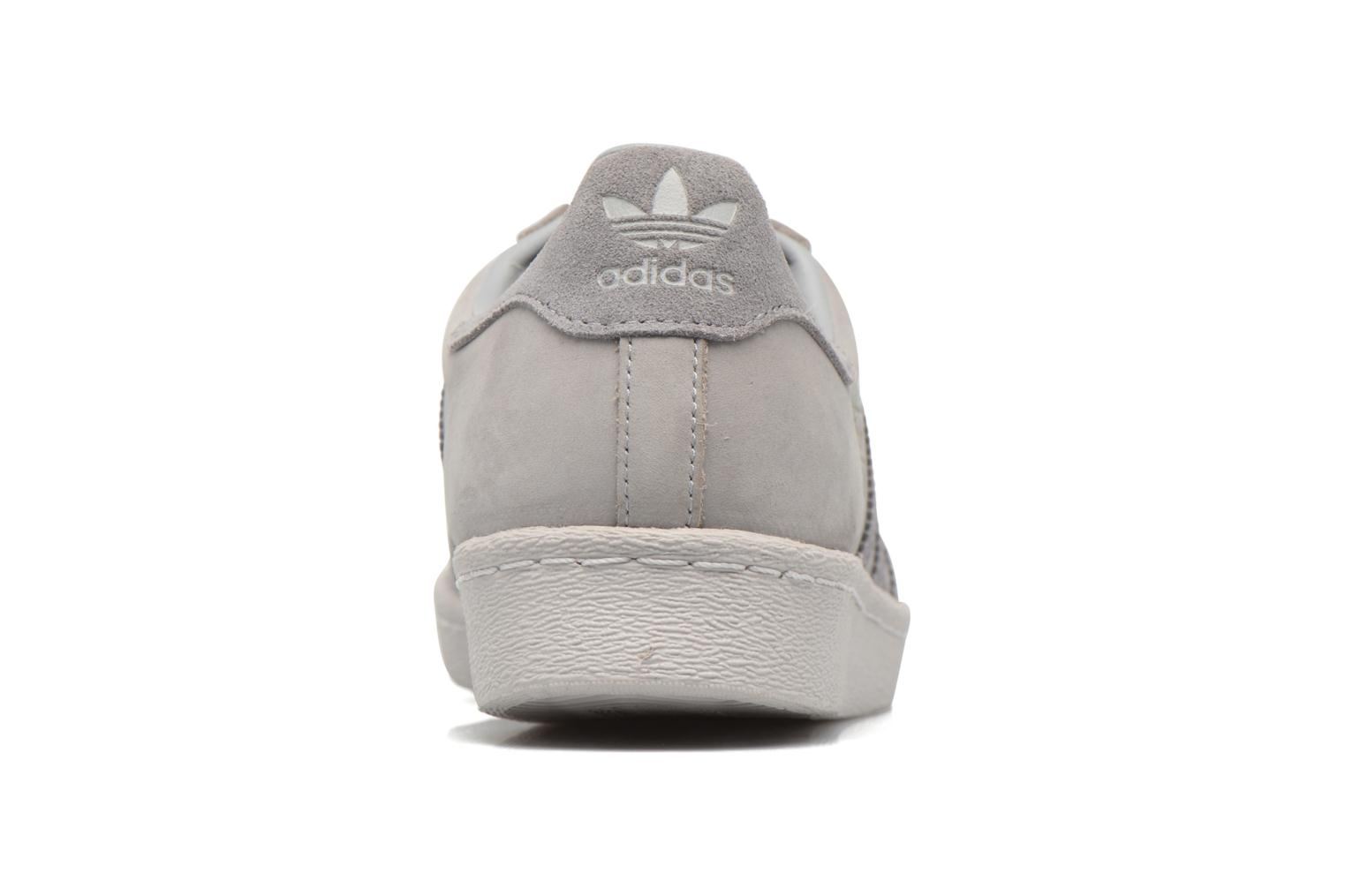 Trainers Adidas Originals Superstar 80S Grey view from the right