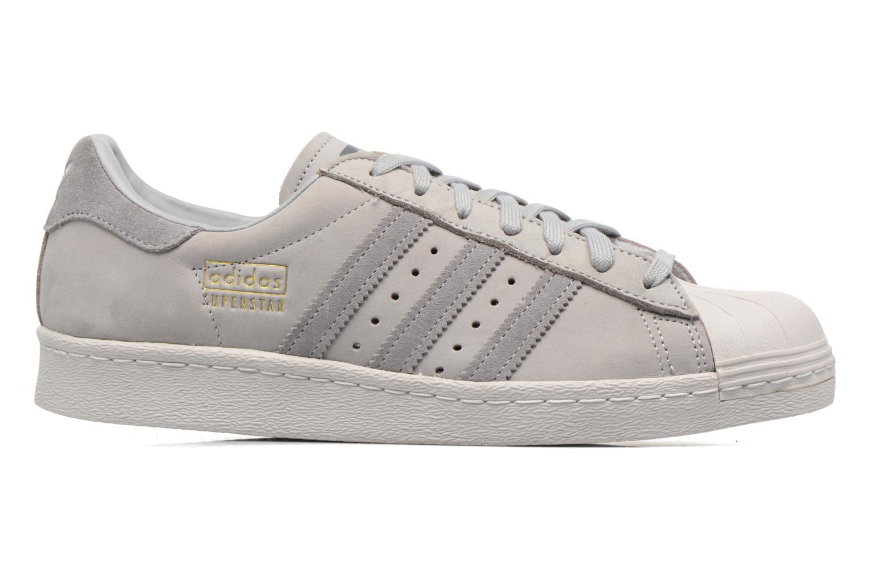 Trainers Adidas Originals Superstar 80S Grey back view