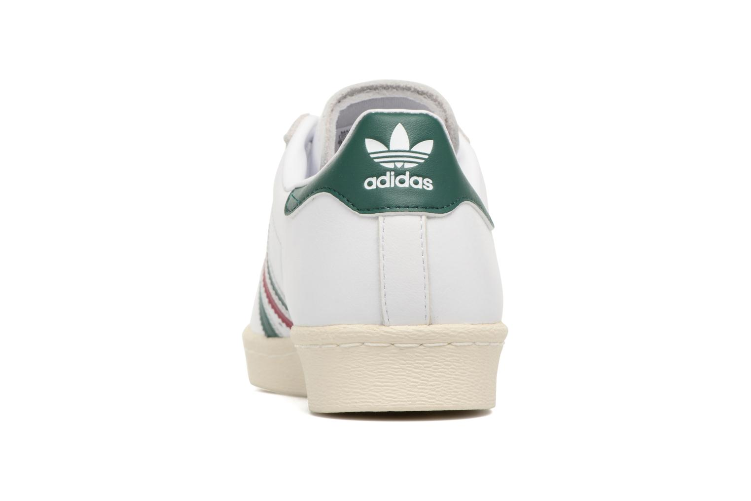 Deportivas Adidas Originals Superstar 80S Blanco vista lateral derecha