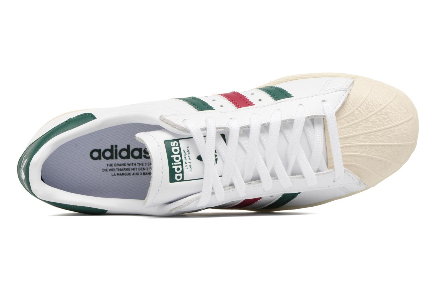 Deportivas Adidas Originals Superstar 80S Blanco vista lateral izquierda