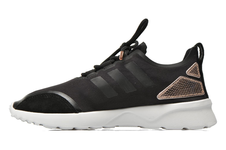 Deportivas Adidas Originals Zx Flux Adv Verve W Negro vista de frente