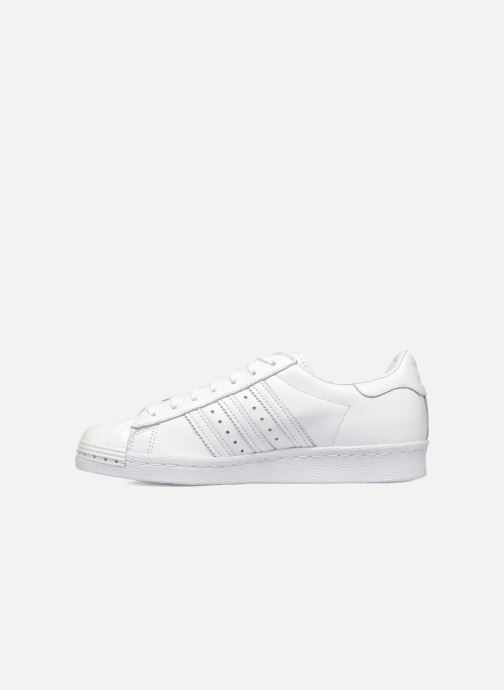 Trainers adidas originals Superstar 80S Metal Toe W White front view