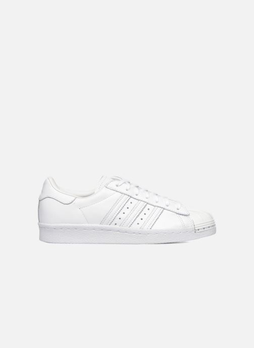 Baskets adidas originals Superstar 80S Metal Toe W Blanc vue derrière