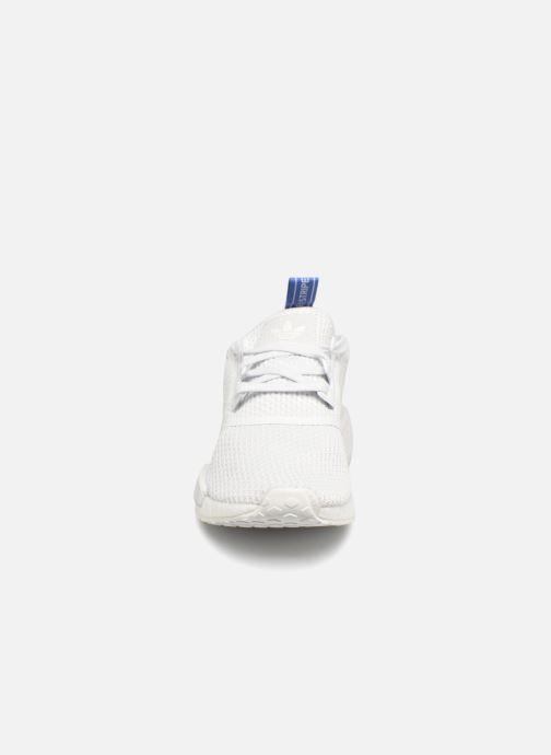 Sneaker Adidas Originals Nmd_R1 W weiß schuhe getragen