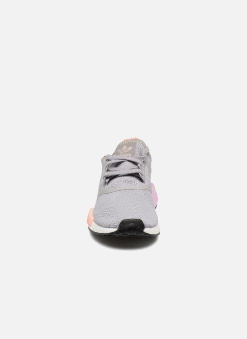 Sneaker adidas originals Nmd_R1 W grau schuhe getragen