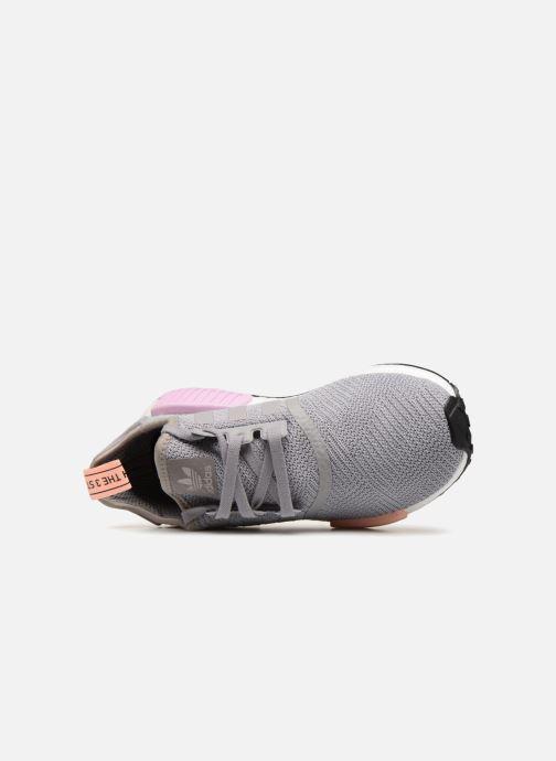 Sneaker Adidas Originals Nmd_R1 W grau ansicht von links