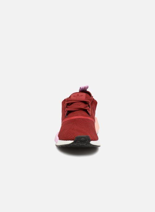 Baskets adidas originals Nmd_R1 W Rouge vue portées chaussures