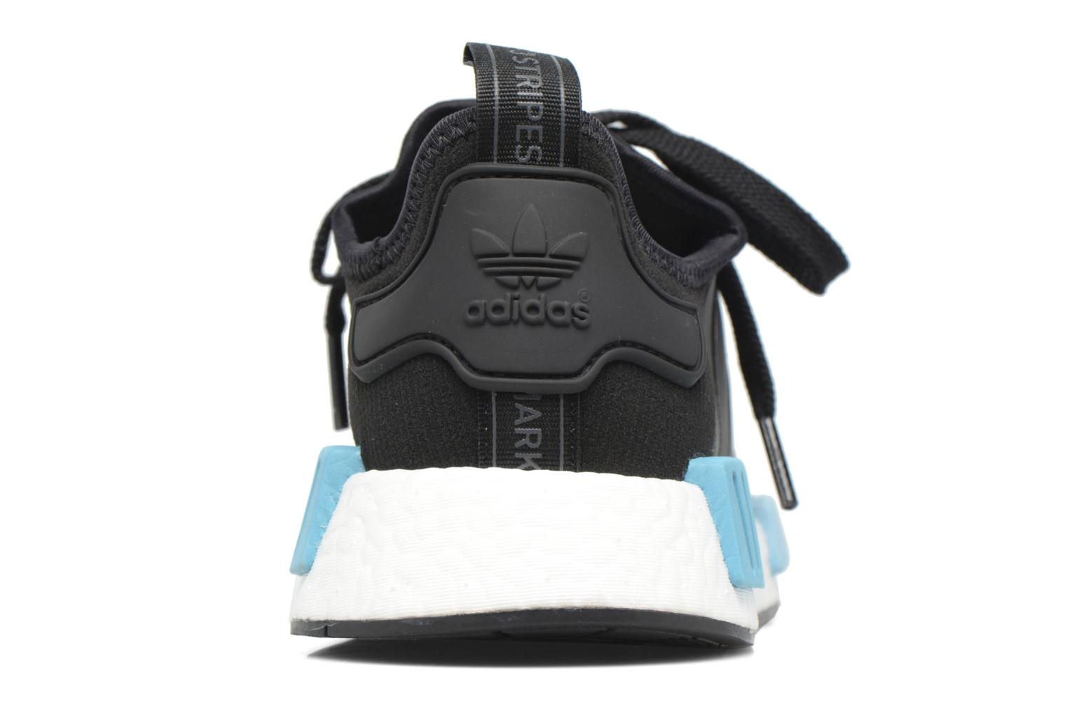 Trainers Adidas Originals Nmd_R1 W Blue view from the right