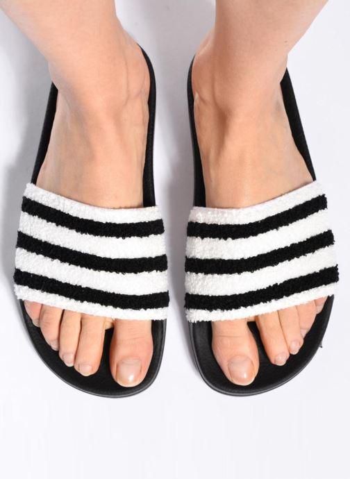 Wedges adidas originals Adilette W Zwart onder