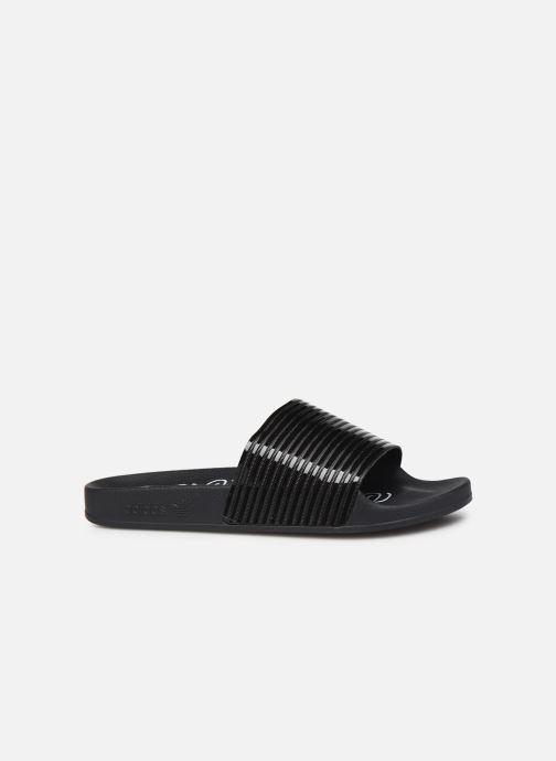 Clogs & Pantoletten adidas originals Adilette W schwarz ansicht von hinten