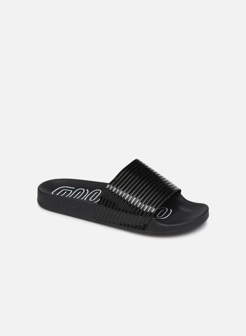 Mules et sabots adidas originals Adilette W Noir vue détail/paire