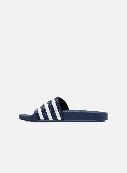Wedges adidas originals Adilette W Blauw voorkant