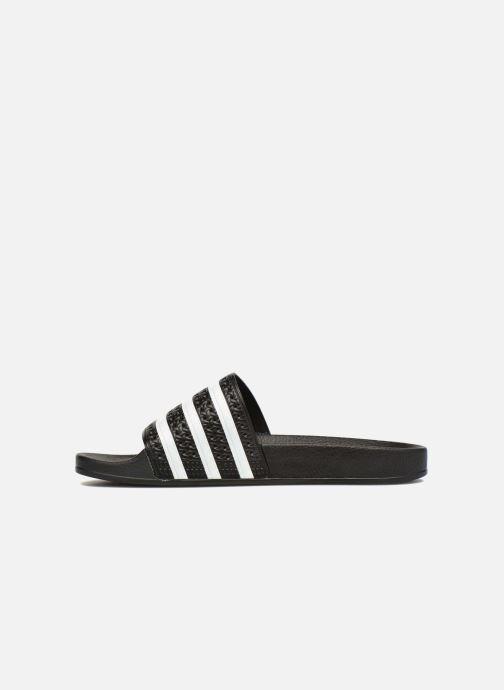 Clogs & Pantoletten adidas originals Adilette W schwarz ansicht von vorne