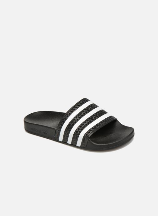 Wedges adidas originals Adilette W Zwart detail