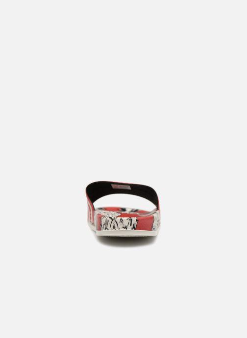 Mules et sabots adidas originals Adilette W Rouge vue droite
