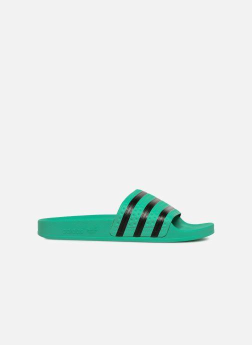 Mules et sabots adidas originals Adilette W Vert vue derrière