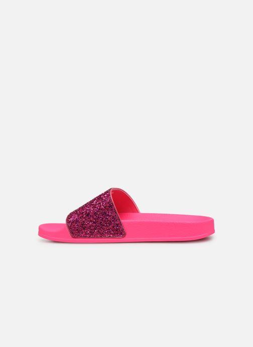 Wedges adidas originals Adilette W Roze voorkant