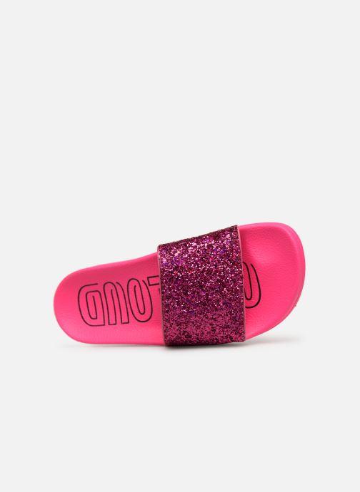 Zoccoli adidas originals Adilette W Rosa immagine sinistra