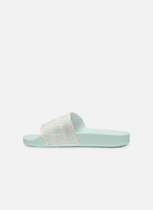 Mules & clogs adidas originals Adilette W Green front view