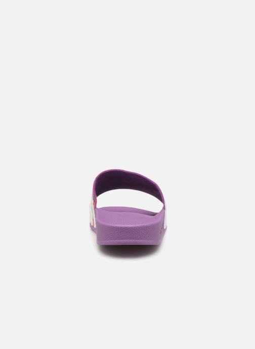 Mules & clogs adidas originals Adilette W Purple view from the right