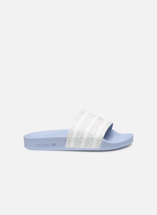 Mules & clogs adidas originals Adilette W Blue back view