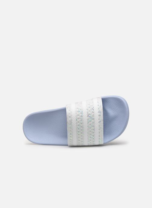 Mules & clogs adidas originals Adilette W Blue view from the left