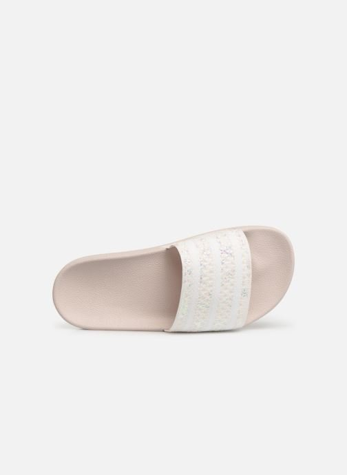 Mules & clogs adidas originals Adilette W White view from the left