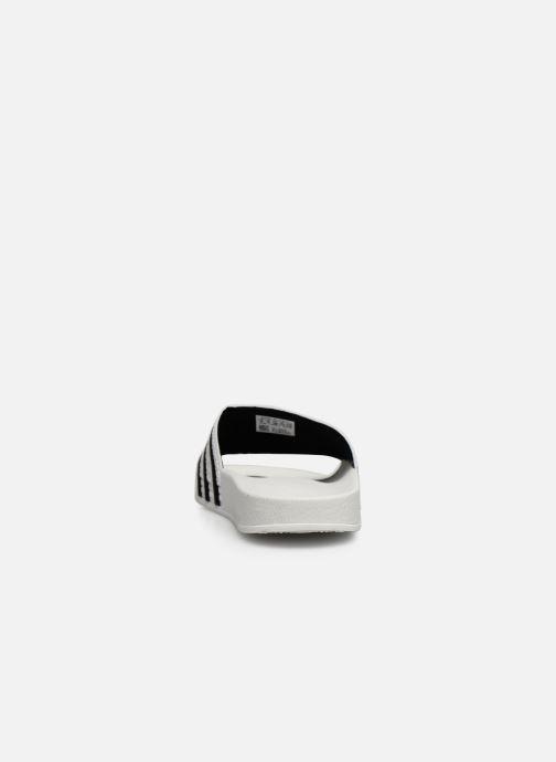 Mules et sabots adidas originals Adilette W Blanc vue droite