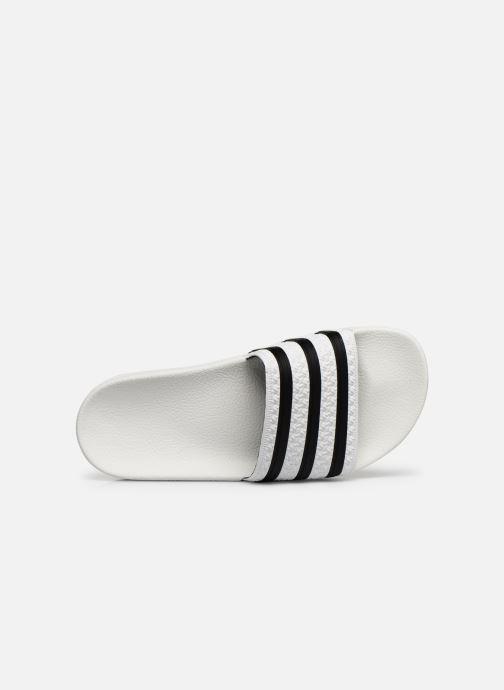 Clogs & Pantoletten adidas originals Adilette W weiß ansicht von links