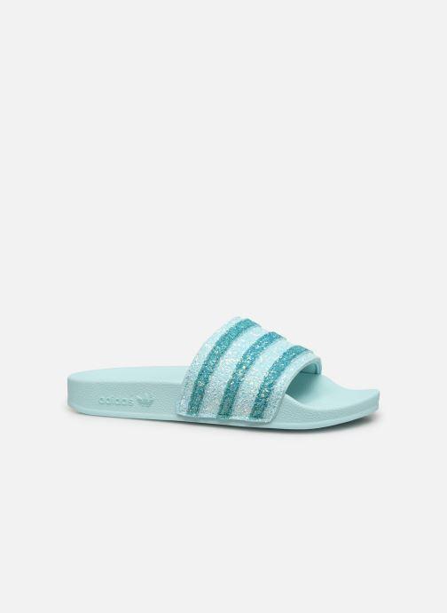 Zoccoli adidas originals Adilette W Azzurro immagine posteriore