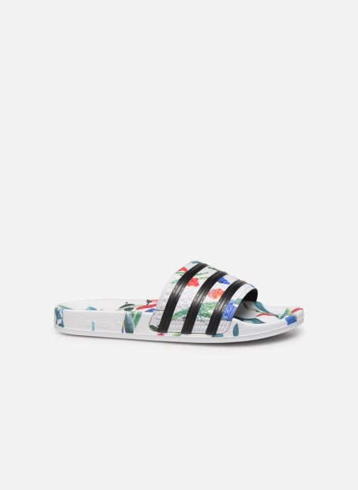 Wedges adidas originals Adilette W Wit achterkant