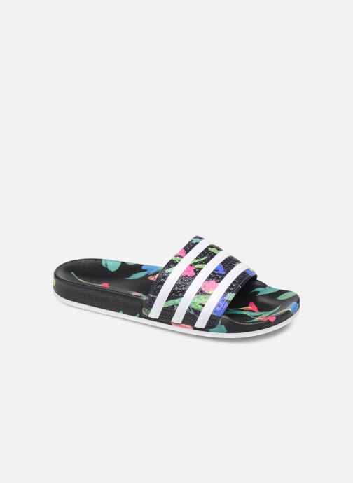 Clogs og træsko adidas originals Adilette W Sort detaljeret billede af skoene