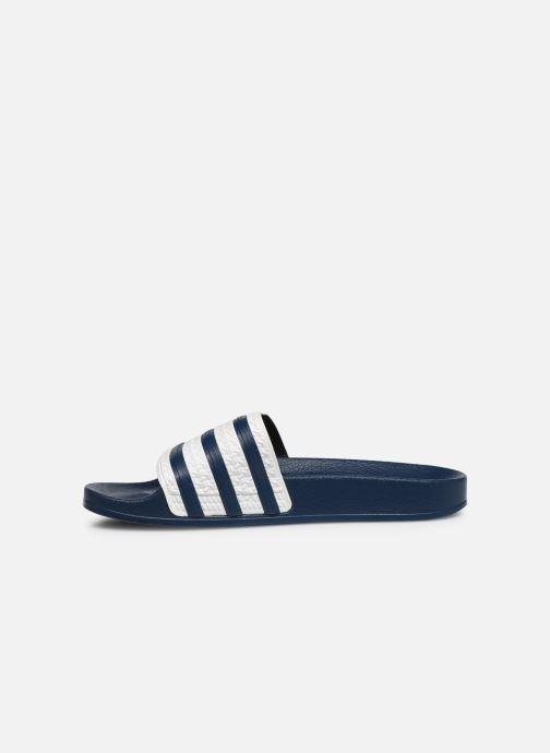 Zoccoli adidas originals Adilette W Azzurro immagine frontale