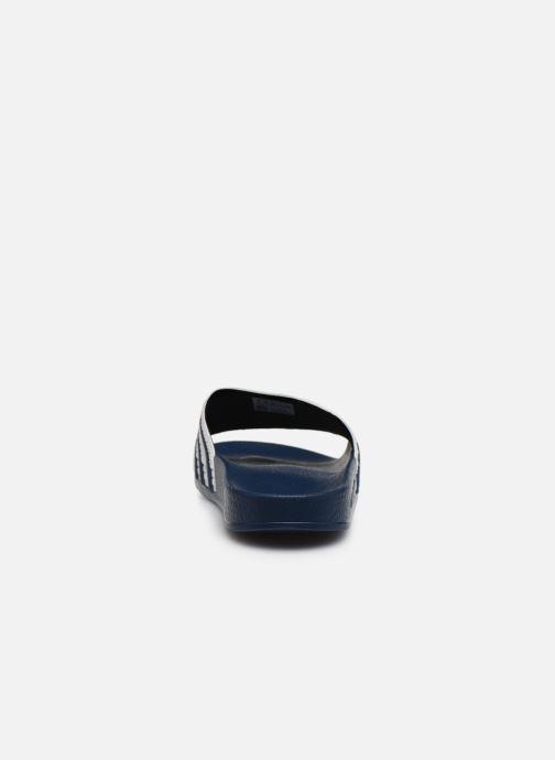 Mules et sabots adidas originals Adilette W Bleu vue droite