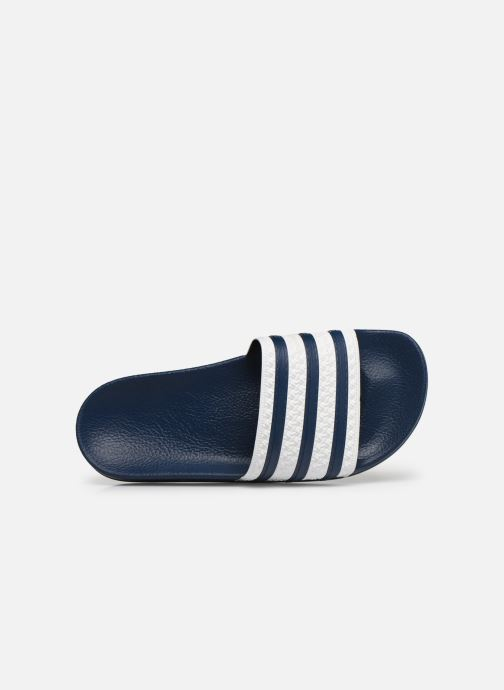 Wedges adidas originals Adilette W Blauw links