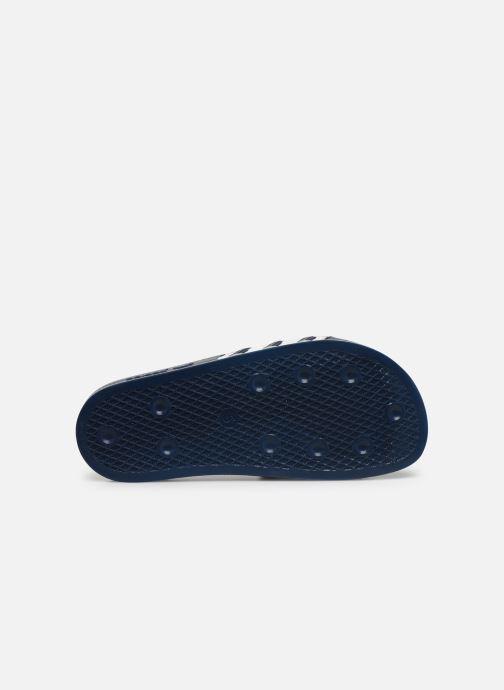 Clogs & Pantoletten adidas originals Adilette W blau ansicht von oben