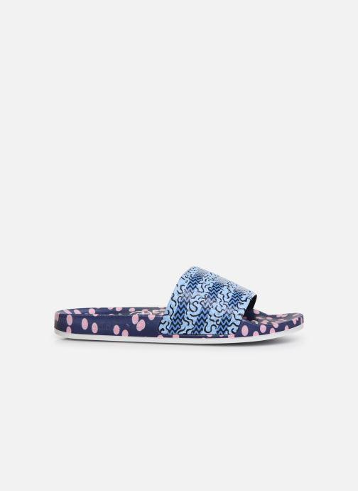 Clogs & Pantoletten adidas originals Adilette W blau ansicht von hinten