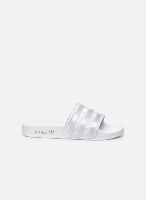 Clogs & Pantoletten adidas originals Adilette W weiß ansicht von hinten