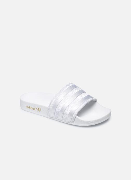 Clogs & Pantoletten adidas originals Adilette W weiß detaillierte ansicht/modell