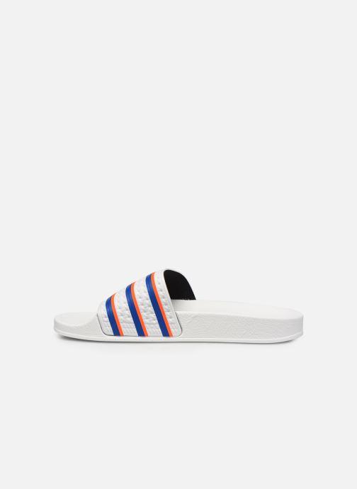 Wedges adidas originals Adilette W Wit voorkant