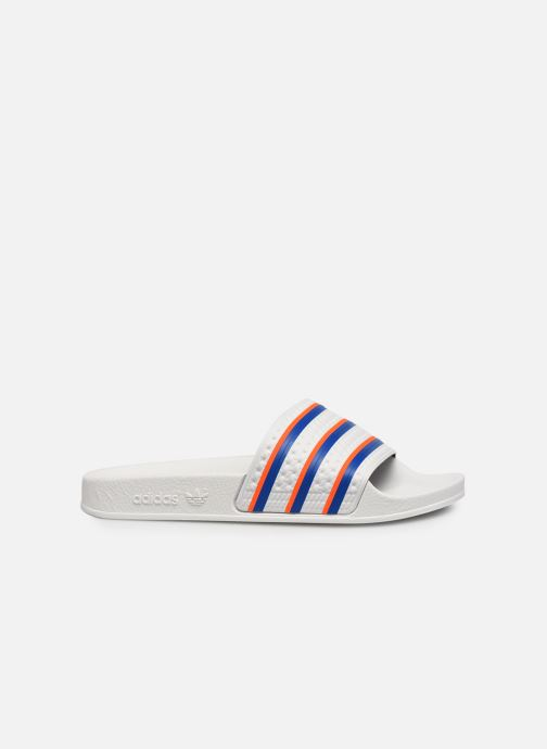 Zuecos adidas originals Adilette W Blanco vistra trasera