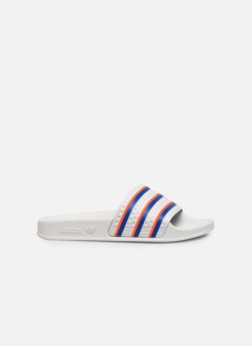 Zoccoli adidas originals Adilette W Bianco immagine posteriore
