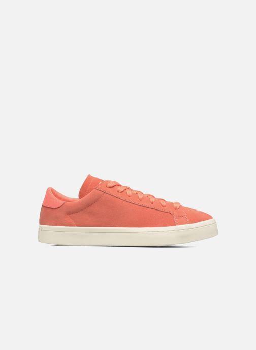 Baskets adidas originals Court Vantage H Orange vue derrière