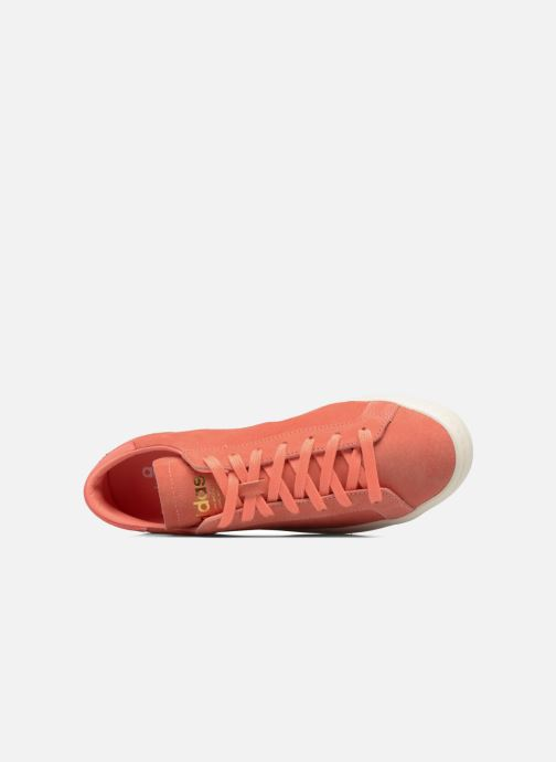 Baskets adidas originals Court Vantage H Orange vue gauche