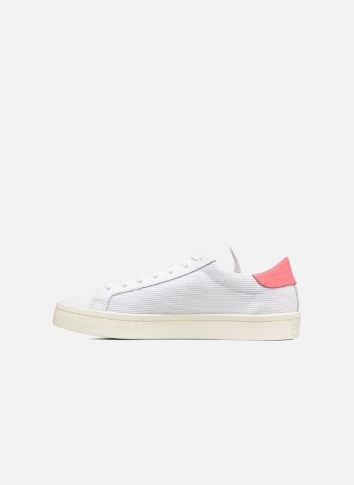 Trainers adidas originals Court Vantage H White front view