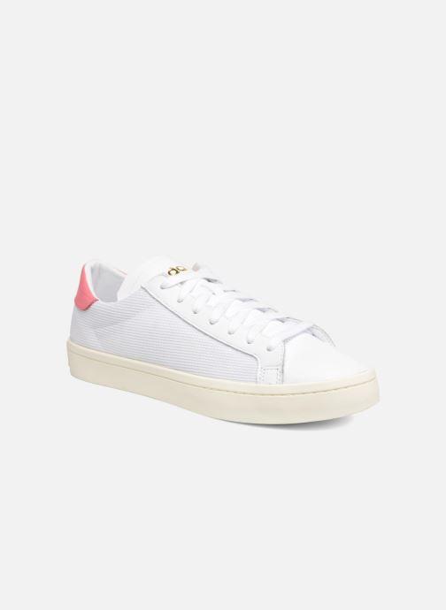 on sale 6ef6a f0ff1 Sneakers Adidas Originals Court Vantage H Hvid detaljeret billede af skoene