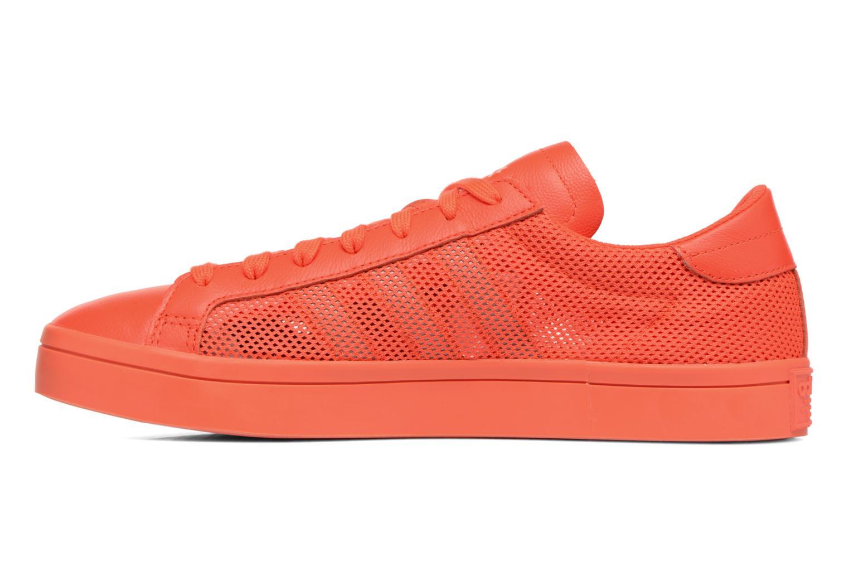 Deportivas Adidas Originals Court Vantage H Rojo vista de frente